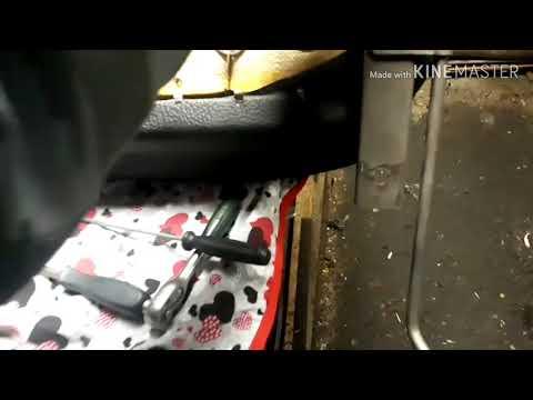 Мелкий ремонт ВАЗ-2107.Ремонт сиденья водителя.