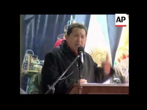 Venezuelan president signs energy agreement with Bolivia and Argentina