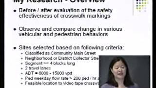 Travel Time Reliability; Pedestrian Crossing Behavior