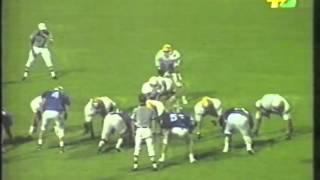Italy vs. Finland - 1995 European American Football Final