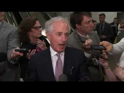 Corker on health care: 'I am for staying here till we get it done'