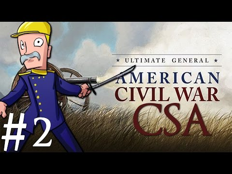 Ultimate General: Civil War | CSA | Part 2 | Battle of Newport News