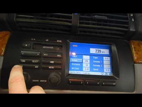 STK# A14078 2001 X5 RADIO W/ NAV TEST VIDEO WORKS GREAT!
