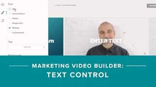 How To Add And Customize Text In Your Marketing Videos