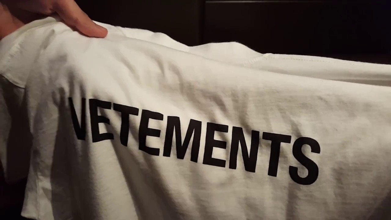 7248f928adbb VETEMENTS STAFF t-shirt (White) first look - YouTube