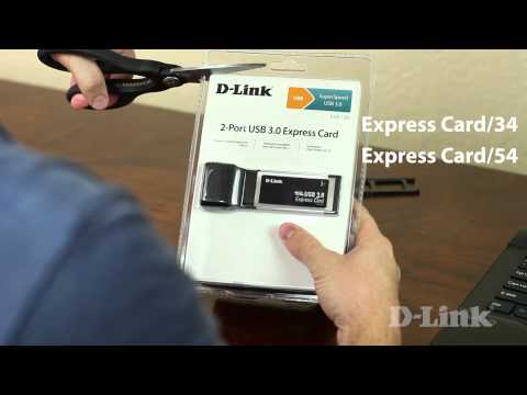 Getting Started: 2-Port USB 3.0 Express Card (DUB-1320)