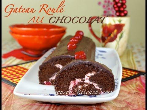 Recette gateau roule facile chocolat