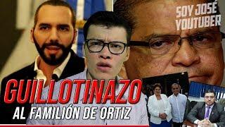 ¡GUILLOTINAZO DE BUKELE A FAMILIÓN DE OSCAR ORTIZ! - SOY JOSE YOUTUBER