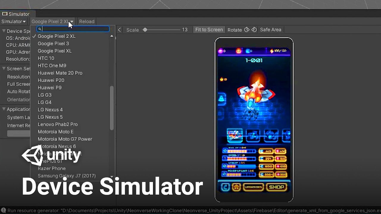 Simulate your Game with Device Simulator in Unity! (Tutorial)
