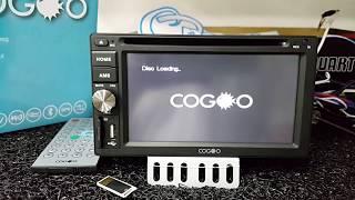 Cogoo CG-06 62 inch Universal USB SD Car DVD Player - By OneBizcommy