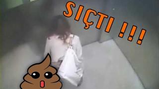 DİKKAT !! Asansör Kameralarına Yakalanan Suçlar ve Gariplikler