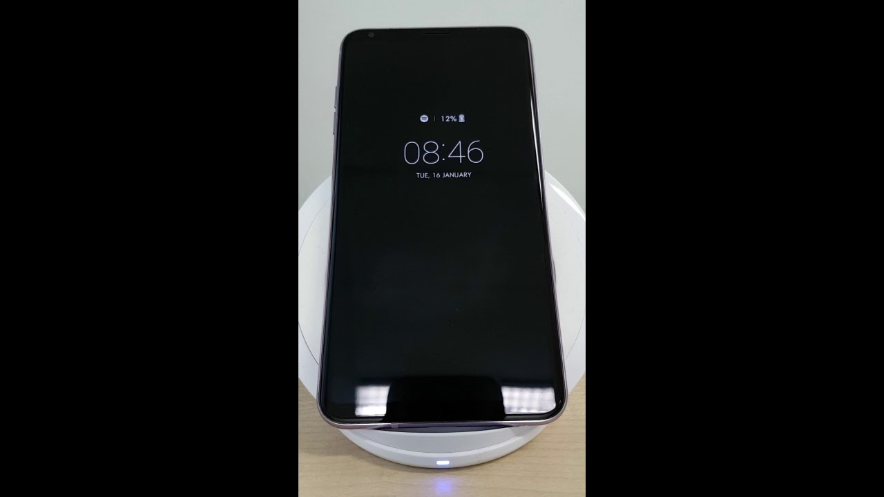 Wireless Charging The LG V30 With The Samsung Fast Wireless Charger