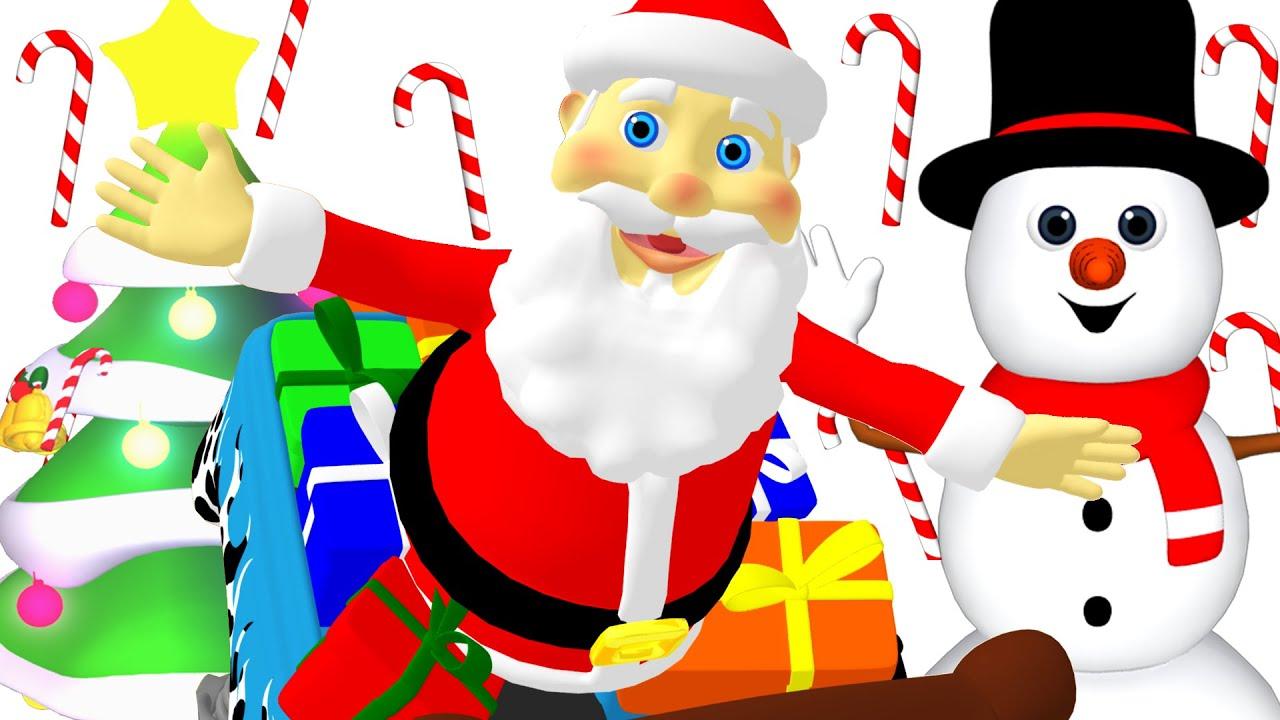 Christmas Song for Children   Xmas Carols, Jingle Bells, Santa Claus, Christmas Playlist for Kids