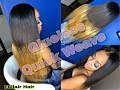 Protective Style - Center part Quick Weave | Eullair Hair