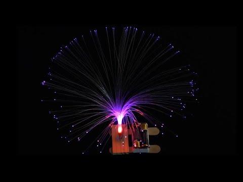 ICStation.com DIY Colorful Flashing LED Optic Fiber Light Decoration for Party Gift