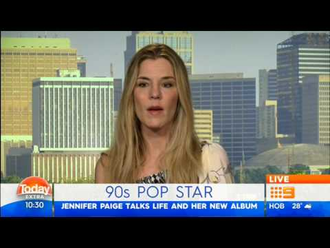 Jennifer Paige - Today Extra interview April 2017