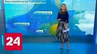 На юг России обрушились мощные снегопады
