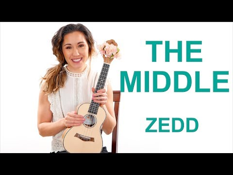The Middle - Zedd Easy Ukulele Percussion Tutorial with Fingerpicking and Play Along