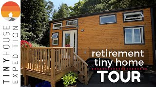 Vancouver Island Tiny House, Woman's Affordable Retirement