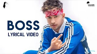 Boss : Jass Manak (Video Lyrics) Satti Dhillon | Latest Punjabi Song