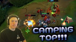 HARD CAMPING TOP WITH TRICK2G (HE CALLED ME DOG) - Cookiemanman