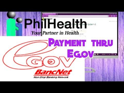 Philhealth Payment Thru Egov | Employer's Guide
