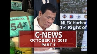 UNTV: C-News (October 19, 2018) PART 1