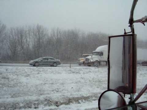 Trucker CB Radio i-84 NY,  USA 12/19/08