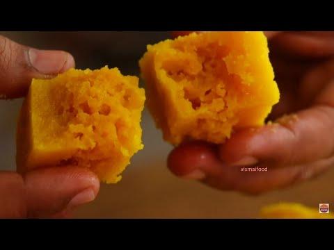 మైసూర్ పాక్ తయారీ పక్కా కొలతలతో|How to make mysore pak at home|MysorePak Recipe in Telugu|VismaiFood