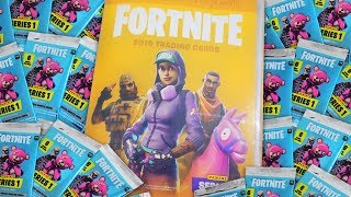 APRO THE ALBUM OF FORTNITE AND A BUSTINE LOT! - Fortnite Trading Cards Series 1