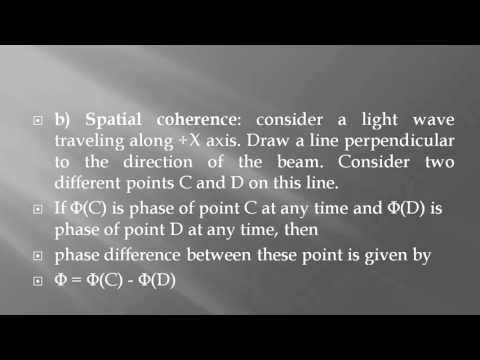 Coherence in Laser