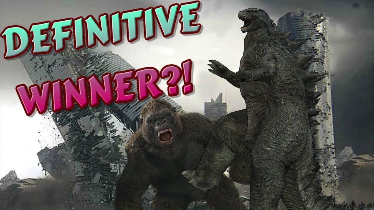 Godzilla vs Kong (2020) CLEAR WINNER CONFIRMED! - YouTube