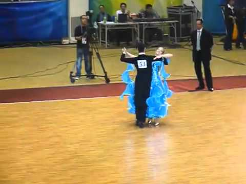 Dance Sports   AIG 2009   Slow Waltz   Final   Ishihara Masayuki & Kubo Ayami Japan