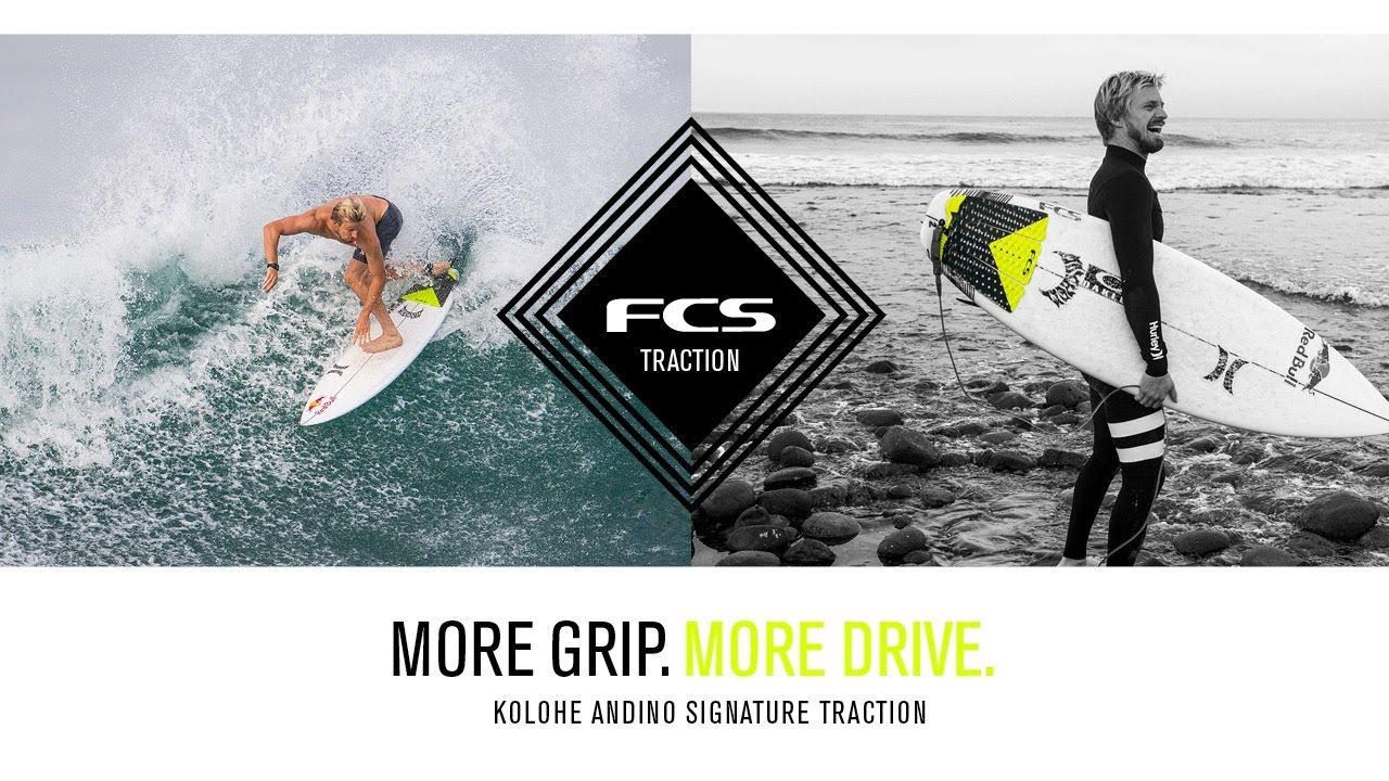 New FCS Kolohe Andino Traction Pad Fade