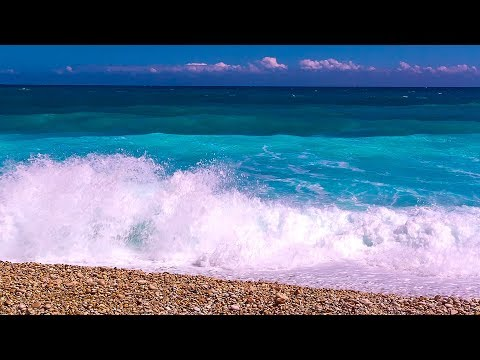 Calming Ocean Sounds to Brighten your Day - Relaxing Waves from Barahona
