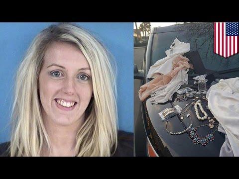 Ladrona es atrapada luego de dejar un charco de orina en el vestidor de una tienda de ropa