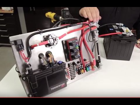 Holley EFI ECU Mounting & Wiring Electronic Fuel Injection Computer Unit Install  YouTube