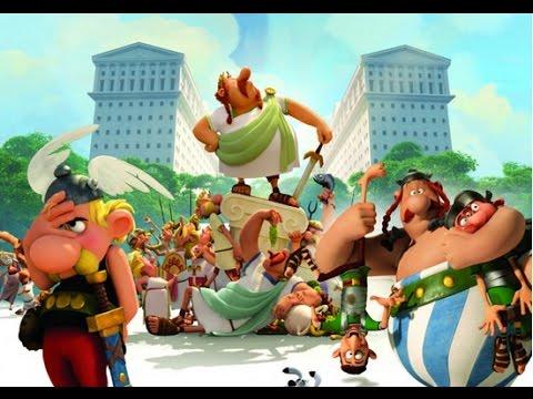 Астерикс и обелиск земля богов мультфильм смотреть
