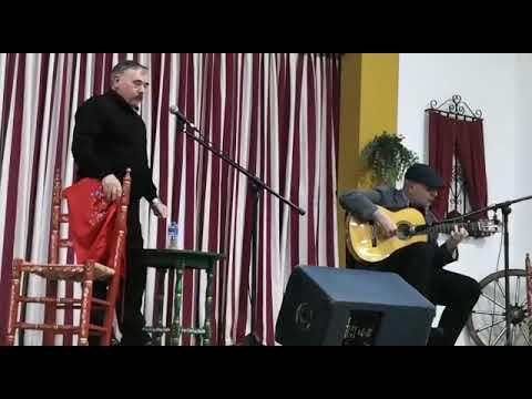 Pepe Casado al cante y David Hidalgo El Moncayo, Fandangos de Huelva.