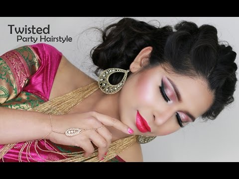 Wedding Hairstyles | Bridal Updo Tutorial | Party Hairstyle
