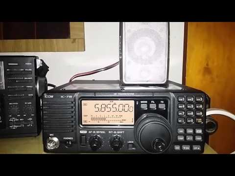 HM01 HYBRID CUBAN NUMBERS STATION 14SET2015 04:05UTC