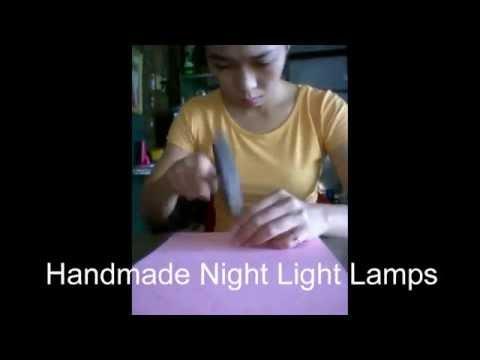 Handmade Night Light Lamps