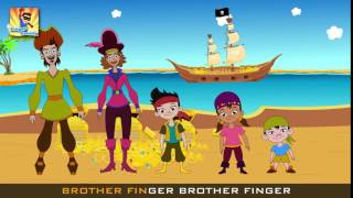 Jake and The Never Land Pirates Cartoon Finger Family   Finger Family Songs   Finger Family Parody