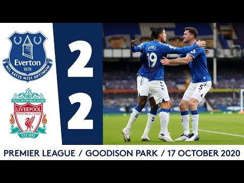 EVERTON 2-2 LIVERPOOL | BLUES REMAIN UNBEATEN AFTER MERSEYSIDE DERBY DRAMA