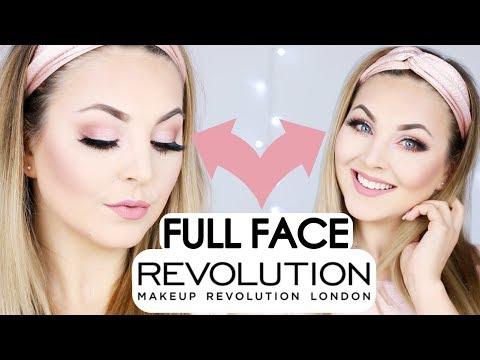 FULL FACE MAKEUP REVOLUTION - One Brand Makeup Tutorial deutsch