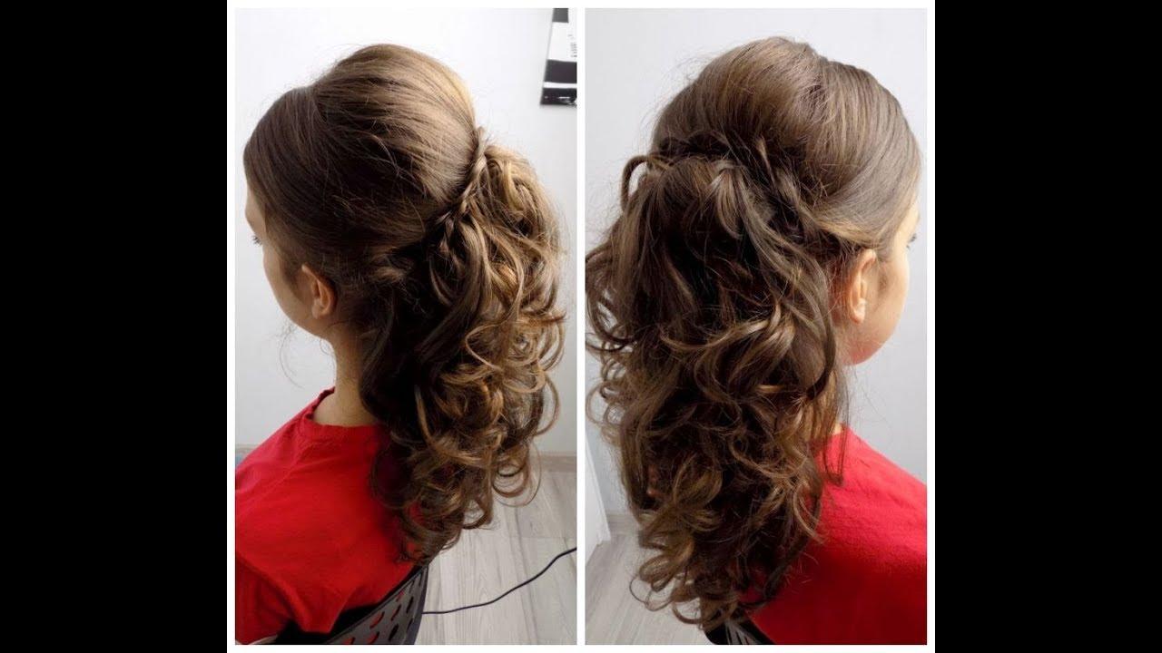 Fryzura Wieczorowa Loki Curly Hairstyles Wesele Poprawiny