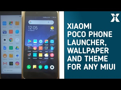 How to get new xioami poco f1 launcher,wallpaper and theme in any xiaomi  device