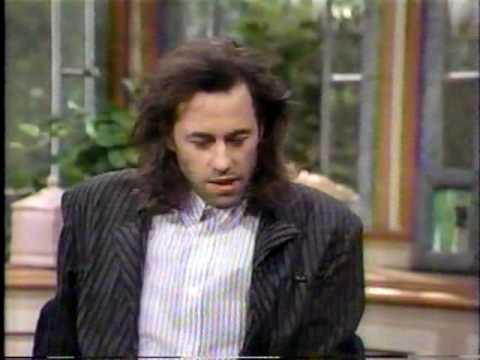Bob Geldof Interview - 1987 - Wil Shriner Show (1 of 2)