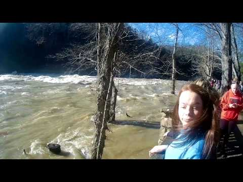 Cumberland Falls....Flooded! Lake Cumberland, Highest Water level in the History of the Lake!