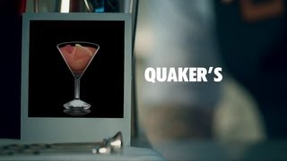Quaker's Drink Recipe - How To Mix